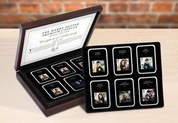 2018 Harry Potter Stamp Collection Boxed Edition Lifestyle