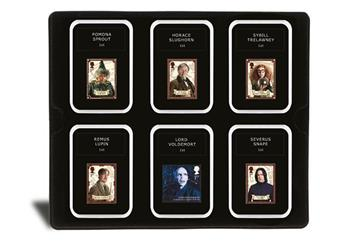 2018 Harry Potter Stamp Collection Boxed Edition Professors