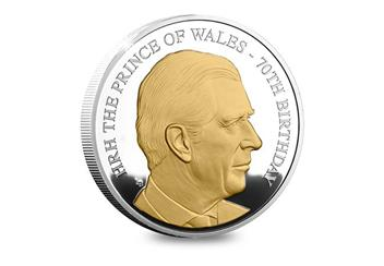 Prince Charles 70th Birthday Coin Silver Proof 5oz Product Images rev.jpg