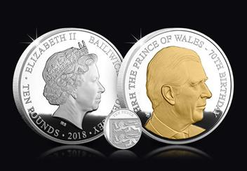 Prince Charles 70th Birthday Coin Silver Proof 5oz Product Images lifestyle 2.jpg