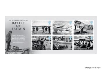 Centenary Of The Raf Battle Of Britain Stamps