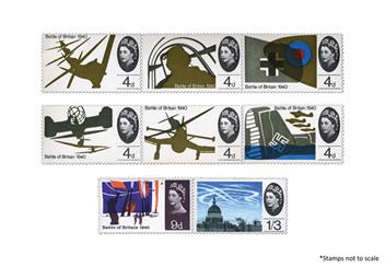 Centenary Of The Raf Battle Of Britain Stamps 2