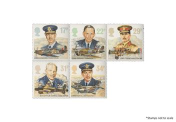 Centenary Of The Raf Commander Stamps