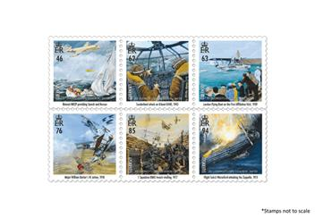 Centenary Of The Raf Guernsey Stamps
