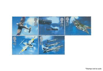 Centenary Of The Raf Plane Stamps