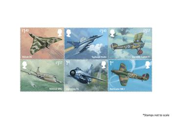 Centenary Of The Raf Plane Stamps 2