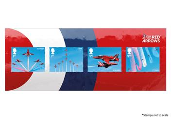 Centenary Of The Raf Red Arrows Stamps