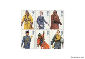 Centenary Of The Raf Uniform Stamps