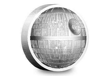 Star Wars 2018 Death Star Ultra High Relief 2Oz Silver Proof Coin In Box Product Images