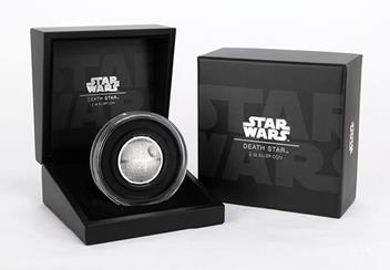 Star Wars 2018 Death Star Ultra High Relief 2Oz Silver Proof Coin In Box Product Images5