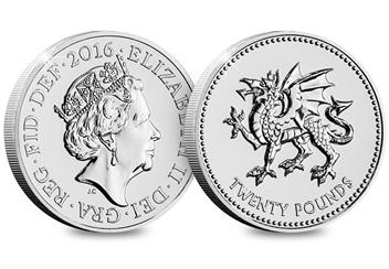 Uk 2016 Pride Of Wales 20 Coin