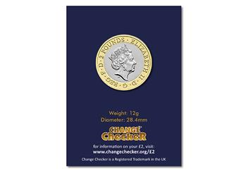 2019 Certified Bu D Day 2 Pound Coin Product Images Pack Back