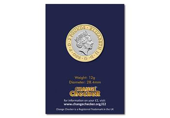 2019 Certified Bu Wedgewood 2 Pound Coin Product Images Pack Back