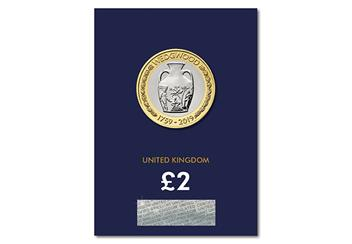 2019 Certified Bu Wedgewood 2 Pound Coin Product Images Pack Front