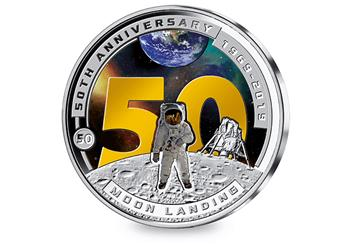 At 2019 Moon Landing 50Th Half Dollar Reverse 1
