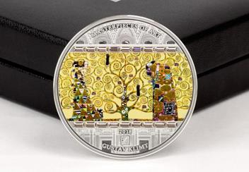 2018 Masterpiece Of Art Tree Of Life 3Oz Silver Proof Coin Reverse3