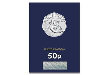 At 2019 Gruffalo 50P Coin Brilliant Uncirculated Pack Front 1
