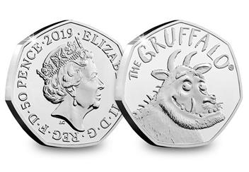 2019 Gruffalo 50P Coin Product Images