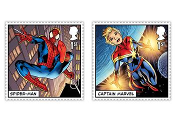 At 2019 Marvel Stamps Collector Card Product Images Stamps 5 1