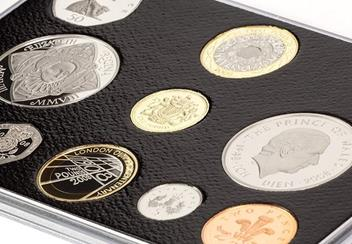 Uk 2008 Annual Bu Proof Coin Set Close Up