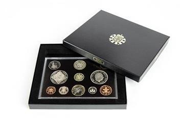 Uk 2008 Annual Bu Proof Coin Set In Display Case2