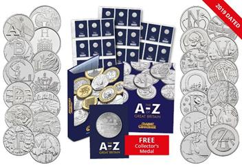Dn 2019 A Z 10P A To Z 10P Coins Product Images