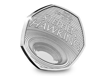 Life Of Stephen Hawking 50P Both Reverse
