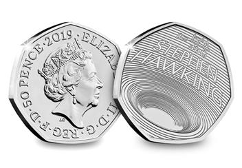 Life Of Stephen Hawking 50P Both Sides