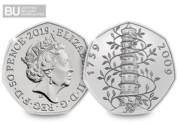At 2019 50Th Anniversary Of The 50P Certified Bu Set Product Images Kew Both Sides Logo 1