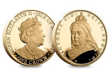 Dn Victoria 200Th Birthday Cuni Gold 5 Three Coin Set Product Old Head