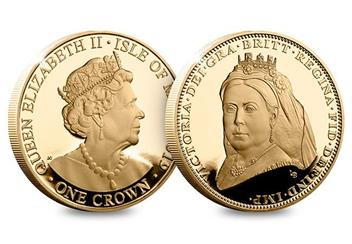 Dn Victoria 200Th Birthday Cuni Gold 5 Three Coin Set Product Veiled Head