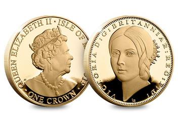 Dn Victoria 200Th Birthday Cuni Gold 5 Three Coin Set Product Young Head