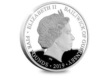 Victoria 200Th Birthday Silver Proof Five Pound Coin Obverse