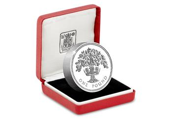UK-1987-England-Oak-Tree-Silver-Proof-Piedfort-One-Pound-Coin-in-Display-Case.png