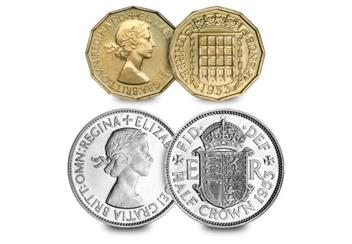 UK-1953-coronation-coin-and-stamp-set-Threepence-and-half-crown.jpg