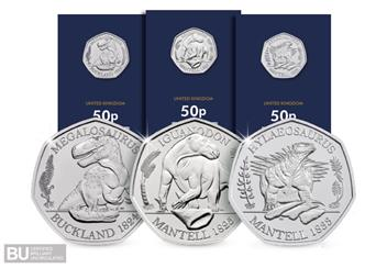 Dinosauria BU 50p collection and Change Checker packaging.jpg