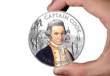 2020 Captain Cook 5oz Silver Proof with Colour HAND.jpg