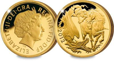 2012 UK Diamond Jubilee Gold Proof Sovereign