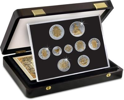 1953 Queen Elizabeth II Coronation Numismatic Set - Presentation Box