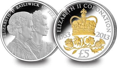 The Coronation Jubilee £5 Coin