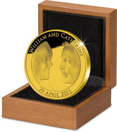 m832 the royal wedding uk gold proof coin - Boy or girl? Coin or no coin?