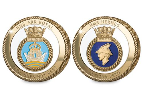 Navy Commemoratives Ark Royal Hermes