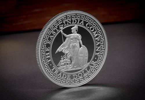 EIC 2018 Trade Dollar Silver Proof Coin Reverse Lifestyle