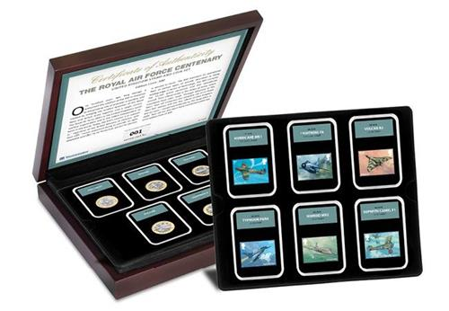 Raf Centenary Ultimate Box Set Commemorative Stamp And Coin Set