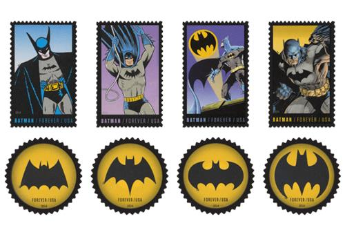 Batman Capsule Box Usa Stamps Product Page All Stamps