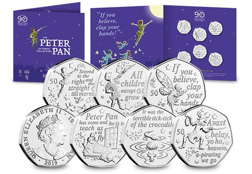 Peter-Pan-IOM-CuNi-BU-50p-Six-Coin-Set.png