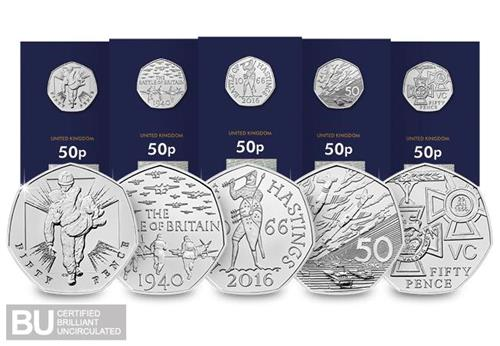 1 DN 2019_The_50th_Anniversary_of_the_50p_Military set_BU_50p Coin product images13.jpg