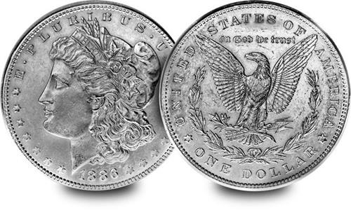 Philadelphia Mint Morgan Dollar