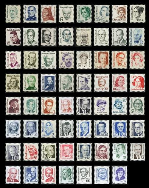 The Greatest Americans Stamp Collection