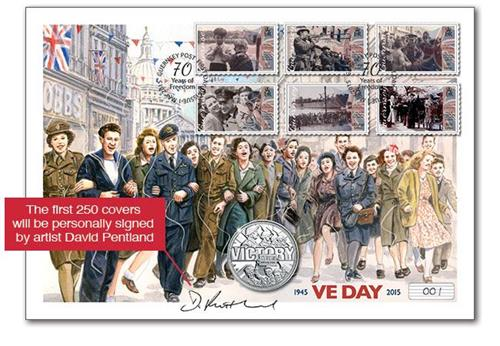 775C 70th Anniversary VE Day Cover